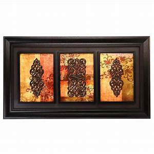 spiced up trio shadowbox kirklands With home decor wall decor furniture unique gifts kirklands