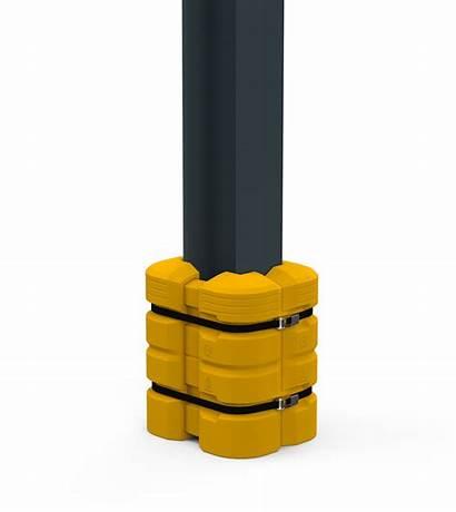 Column Guard Mccue Protection Inch