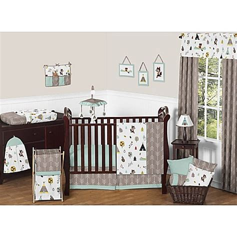 Sweet jojo designs paris 9 piece baby bedding set. Sweet Jojo Designs Outdoor Adventure Crib Bedding ...