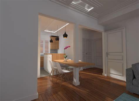 plans cuisine ouverte idee cuisine ouverte sejour maison design bahbe com