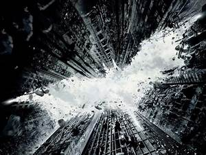 The Dark Knight Rises and Gotham's Buildings Fall