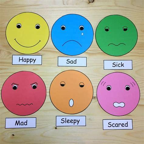 Feelings Faces For Preschool And Kindergarten  Kids  Feelings Preschool, Emotions Preschool