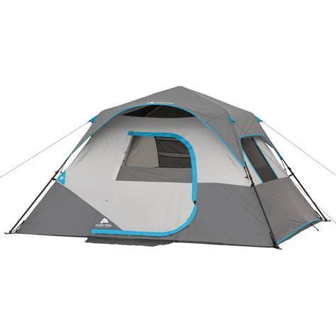 ozark trail 6 person instant cabin tent ozark trail 10 x 9 66 quot 6 person instant cabin tent ebay