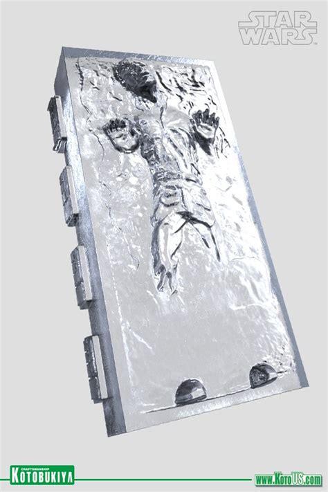 Kotobukiya Star Wars Han Solo In Carbonite Dx Ice Tray ...