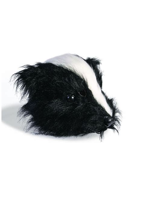 scary skunk mask animal costumes