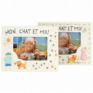 Mon Cadre Photo : cadre photo mon chat et moi gar on 9x13cm emd ~ Teatrodelosmanantiales.com Idées de Décoration