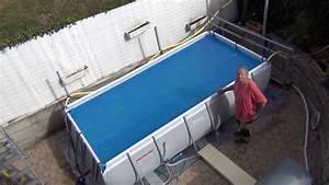 Enrouleur Bache A Bulle Piscine Hors Sol : enrouleur de b che bulle pour piscine hors sol bestway ~ Nature-et-papiers.com Idées de Décoration