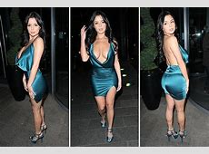 Demi Rose Mawby turns heads in sizzling summer dress as