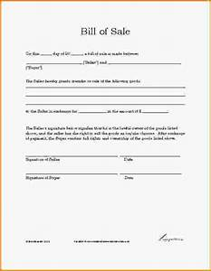auto bill of sale sample With as is vehicle bill of sale template