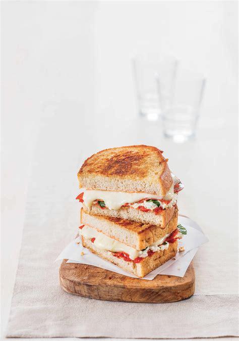 recette sandwich toaste facon margherita burgers