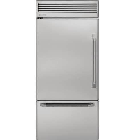zicpnxlh ge monogram  professional built  bottom freezer refrigerator monogram