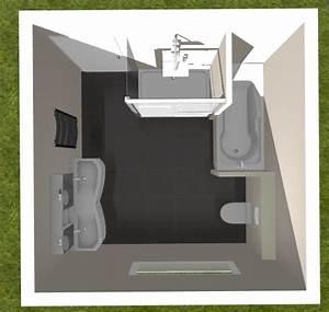 Amenagement salle de bain de 9m2 3x3 resolu 32 messages for Separer une piece avec un meuble 10 amenagement salle de bain de 9m2 3x3 resolu 32 messages
