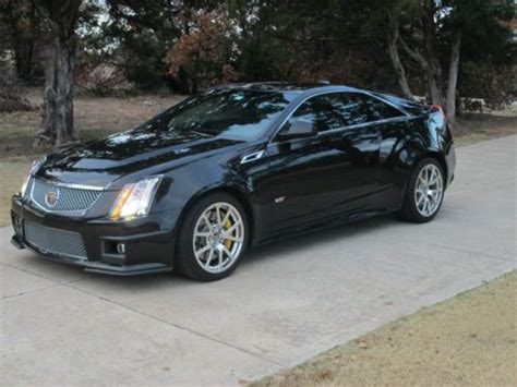 Buy Used 2012 Cadillac Cts V Coupe 2-door 6.2l In Edmond