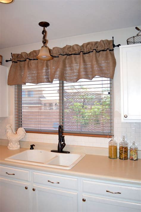 country kitchen valances 17 best ideas about burlap valance on country 3631
