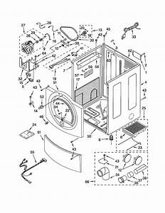 Kenmore Model 11092826101 Residential Dryer Genuine Parts
