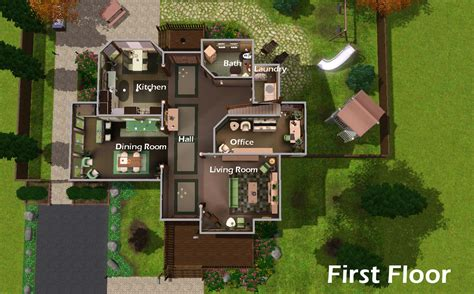 title mansion floor plans sims plan house plans 19734