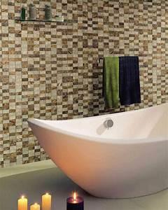 Salle de bain zen avec des couleurs decoratives for Salle de bain design avec bougie décorative oriental