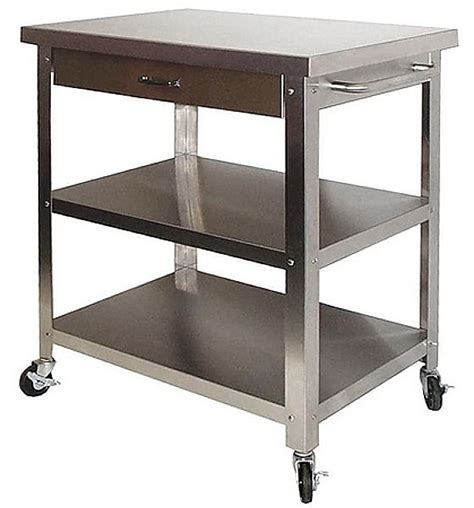 stainless steel kitchen island cart danver stainless steel kitchen carts chicago home ideas pinterest