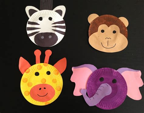 safari theme crafts paint plates construction paper 743 | 0c097049dde7bceed8b9ae5eee4a758f