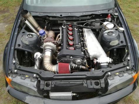 bmw e46 with a turbo mercedes inline six engine swaps bmw e46 engine cars motorcycles