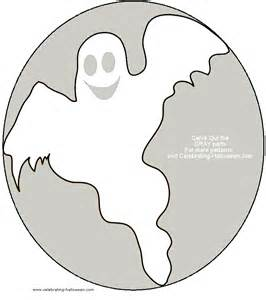 Free Pumpkin Carving Stencils Ghost
