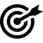 Bullseye Icon Target Arrow Eye Bulls Maybe