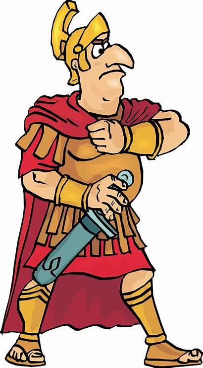 Roman Romano Numeral Rome Clipart Soldato Transparent