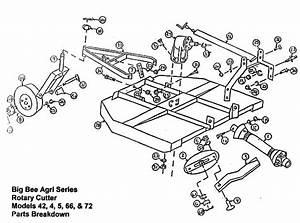 28 King Kutter Brush Hog Parts Diagram