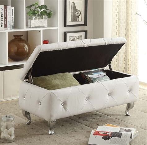 Upholstered Bench Living Room by Leather Ottoman Tufted Storage Bench Upholstered Living