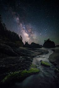 Oregon Coast Milky Way