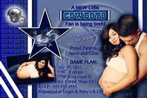 wedding banner sayings personalized dallas cowboys baby shower by kreativekreations