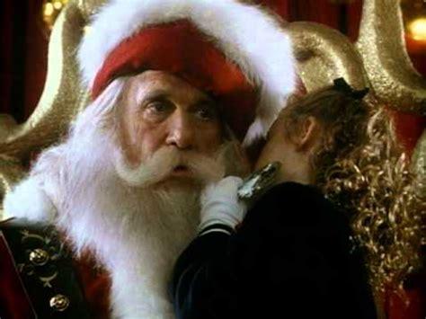 leslie nielsen as santa all i want for christmas trailer youtube