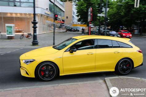 The new cla shooting brake comes with enough room for a family and has enough performance for a fast driver on a winding road and some loose. Mercedes-AMG CLA 45 S Shooting Brake X118 - 23 mei 2020 ...