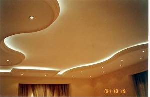 Photo : Repairing A Ceiling Images Modern White False