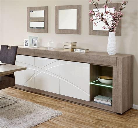ensemble de meubles de salle manger moderne blanc et bois
