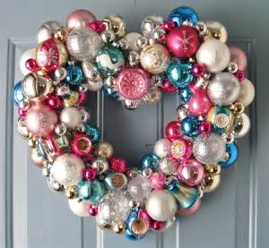 Heart Shaped Wreath Christmas Ornaments