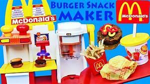 McDonalds Happy Meal Magic Hamburger Snack Maker Toy ...