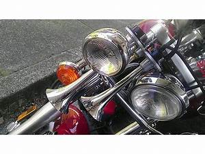 Ty U0026 39 S Yamaha V-star Train Horn Install