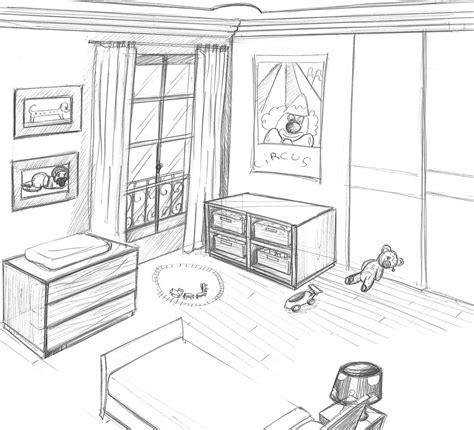 chambre d馗oration une chambre dessin solutions pour la décoration intérieure de votre maison