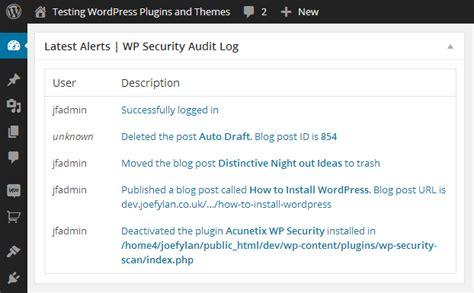 Wp Security Audit Log Wordpress Plugin Review