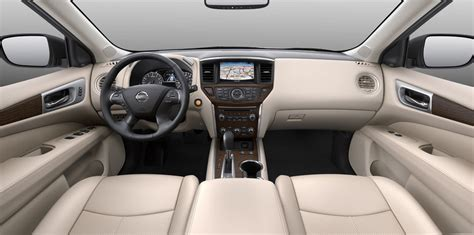 nissan pathfinder interior 2017 nissan pathfinder pricing and specs