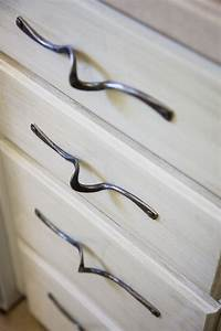 Handmade Custom Hand Forged Door And Drawer Pulls by
