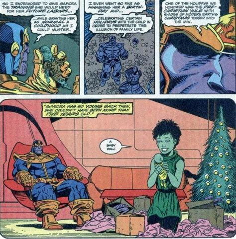 remember  time thanos  gamora  christmas