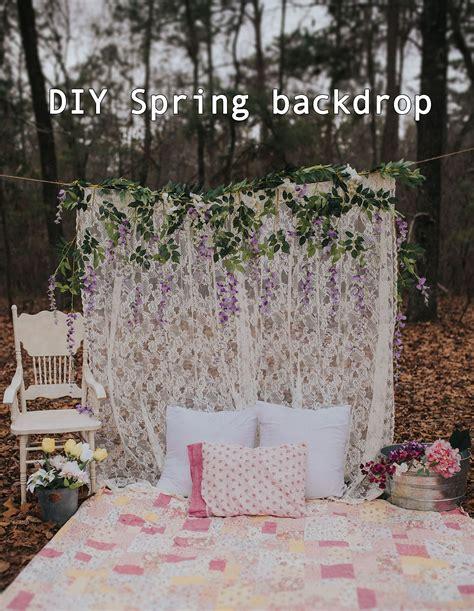 diy backdrop diy photography backdrop lace