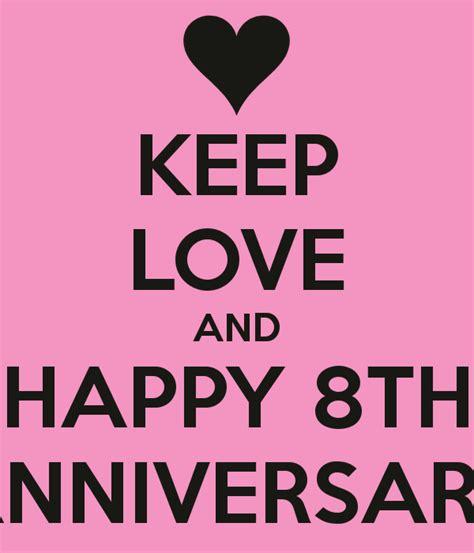 Happy 8th Wedding Anniversary Quotes