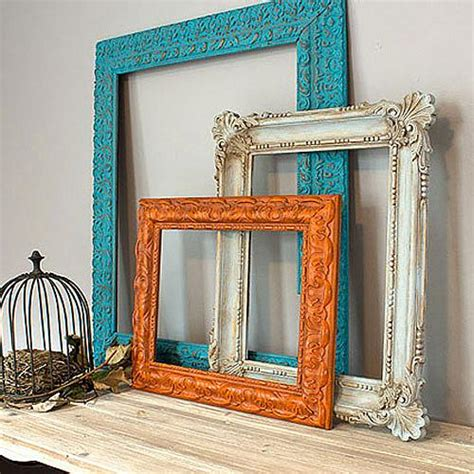redo frame trio  chalky finish project  decoart