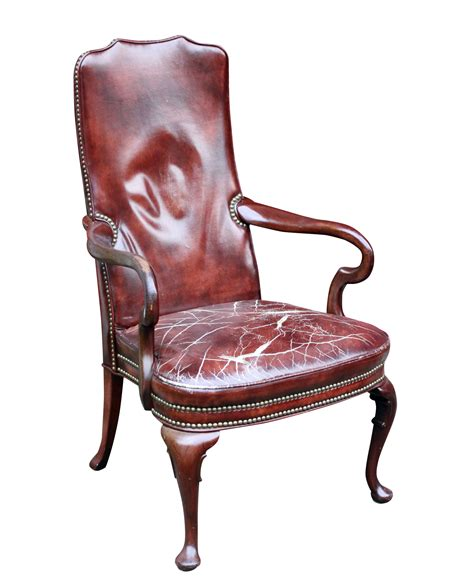 worn leather arm chair distressed burgundy leather mahogany arm chair atomic flat 1660