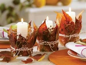 Herbst Tischdeko Natur : 25 tolle herbst deko ideen und arrangements f r das haus ~ Bigdaddyawards.com Haus und Dekorationen
