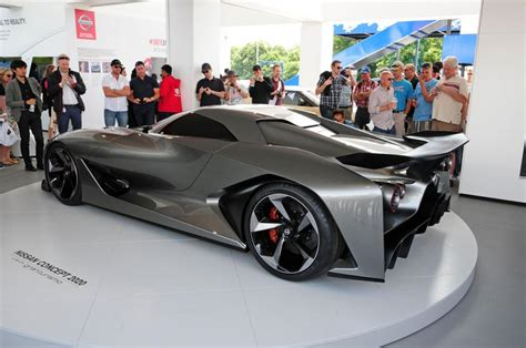 Nissan 2020 Vision Gt by Nissan Concept 2020 Vision Gt Revealed At Goodwood Fos