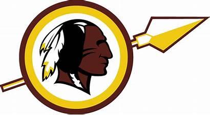 Redskins Washington Clipart Transparent Logos Sports Concepts